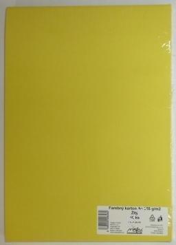 Výkresy farebné A2, 225g/20ks, žlté
