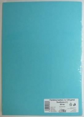 Výkresy farebné A3, 225g/50ks, svetlomodré