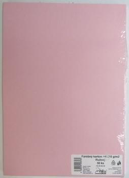 Výkresy farebné A3, 225g/50ks, ružové