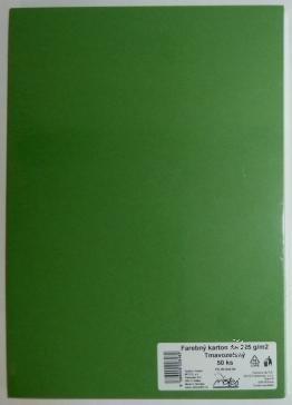 Výkresy farebné A3, 225g/50ks, tmavozelené