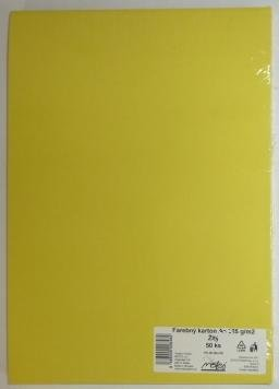 Výkresy farebné A3, 225g/50ks, žlté