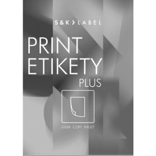 Etikety PLUS 68x47mm/100 hárkov
