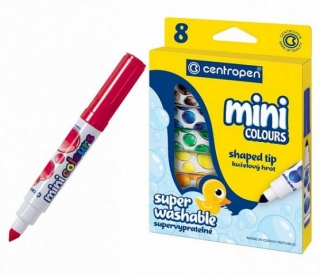 "Popisovač CENTROPEN ""8070 Mini colours""/sada 8ks"