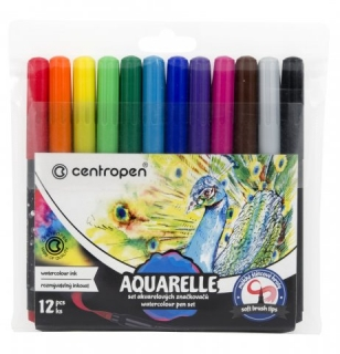 "Fixky CENTROPEN ""8683 Aquarelle""/sada 12ks"